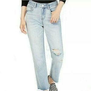 Indigo Rein Blue Size 7 Junior's Distressed Jeans